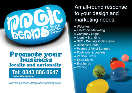 Magic Beans design and marketing Cambridgeshire